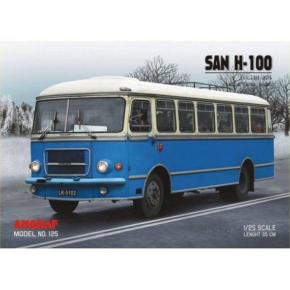 Angraf 125 - Autobus SAN H-100