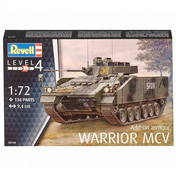 REVELL 03144 - Warrior MCV with Add-on Armour