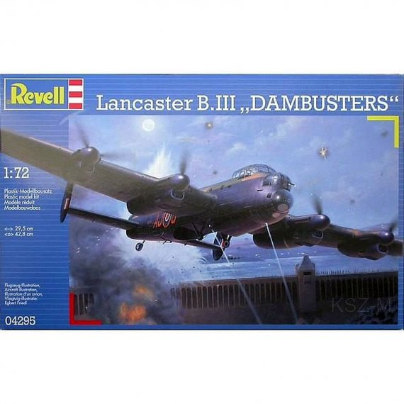 REVELL 04295 - Lancaster B. III Dambusters
