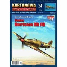 Kartonowa Kolekcja 24 Samolot Hurricane Mk II