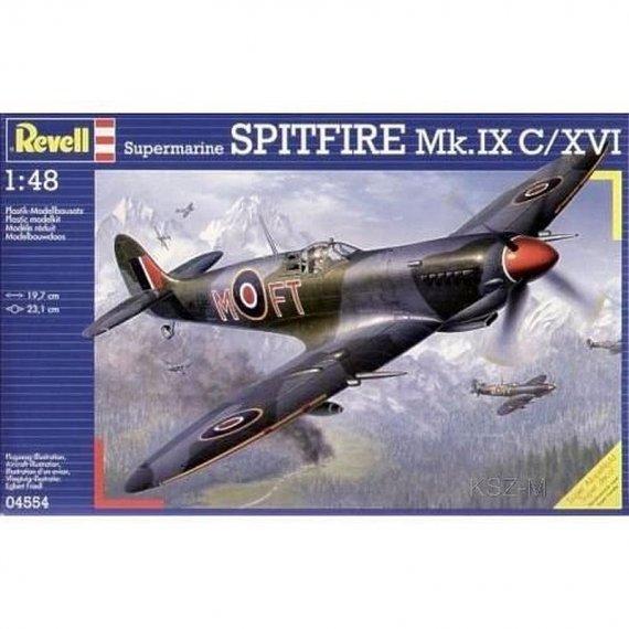 REVELL 04554 - Spitfire Mk.IX C/XVI