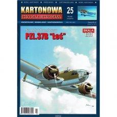 Kartonowa Kolekcja 25 - Samolot PZL.37B Łoś