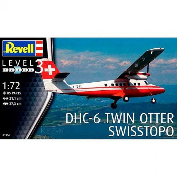 REVELL 03954 - DHC-6 Twin Otter Swisstopo