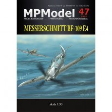 MPModel 47 Bf-109 E4 Bitwa o Anglię