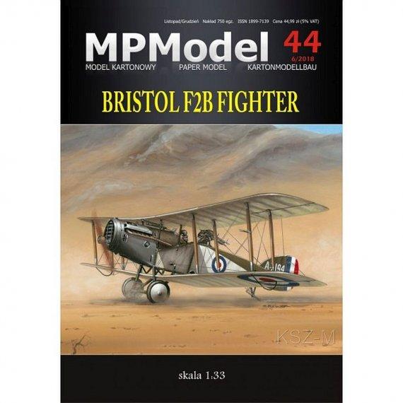MPModel 44 - Samolot Bristol F2B Fighter
