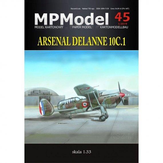 MPModel 45 - Arsenal Delanne 10.C1