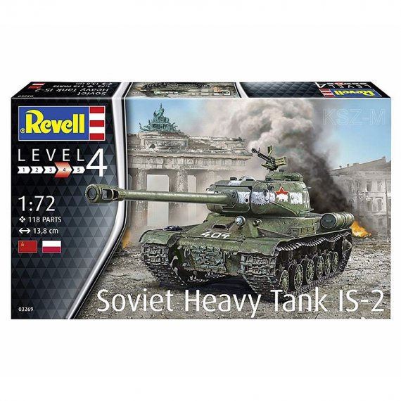 REVELL 03269 - Soviet Heavy Tank IS-2
