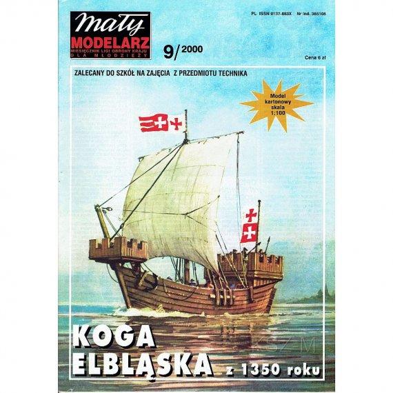 Mały Modelarz 9/00 - Koga elbląska z 1350r