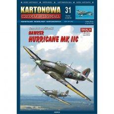 Kartonowa Kolekcja 31 - Samolot Hurricane Mk IIC