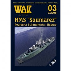 WAK 3/05 - HMS Saumarez