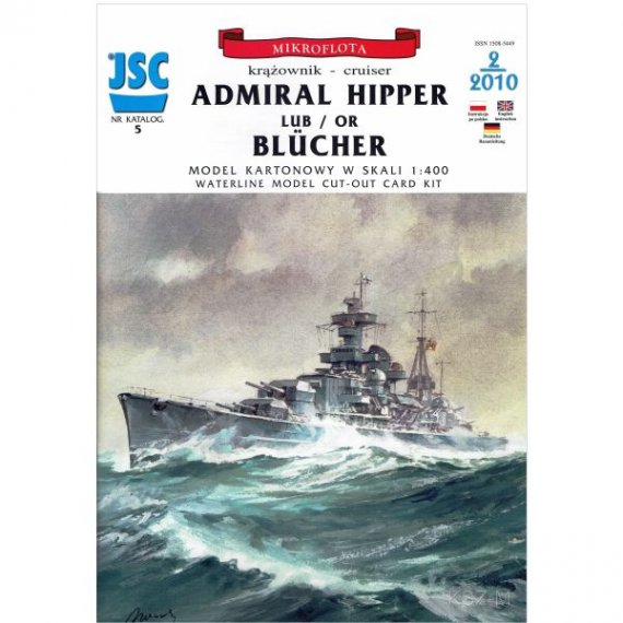 JSC-005 - Krążownik ADMIRAL HIPPER