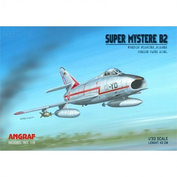 Angraf 118 - Super Mystere B.2