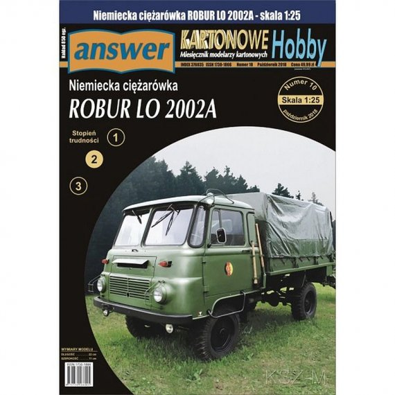 Answer 11/18 - ROBUR LO 2002A