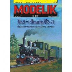 Modelik 6/09 - Bn2t+t Henschel T2-71