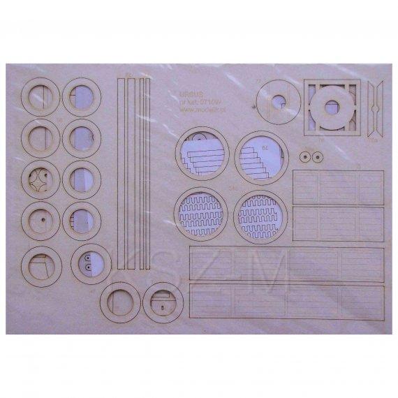 Zestaw laserowy do URSUS C45 / C451 - Modelik 10/07