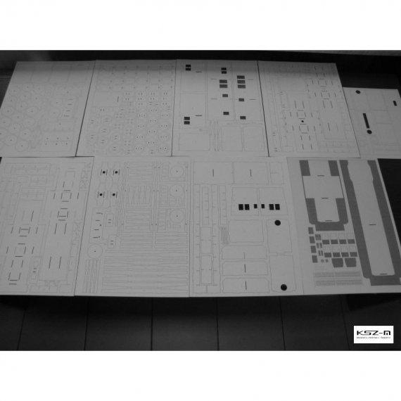 Zestaw laserów do Lokomotywa S200 (T669) - Modelik 1/18