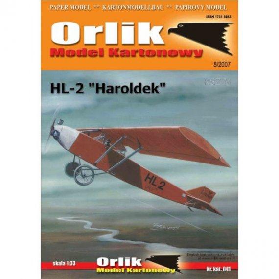 Orlik 041 - Samolot HL-2 Haroldek