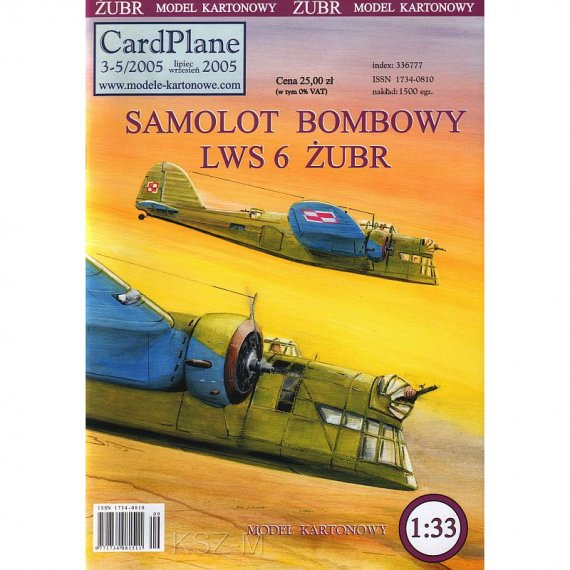 CardPlane 3-5/2005 - LWS-6 Żubr