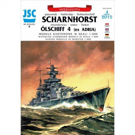 JSC-006 - Niemiecki pancernik SCHARNHORST