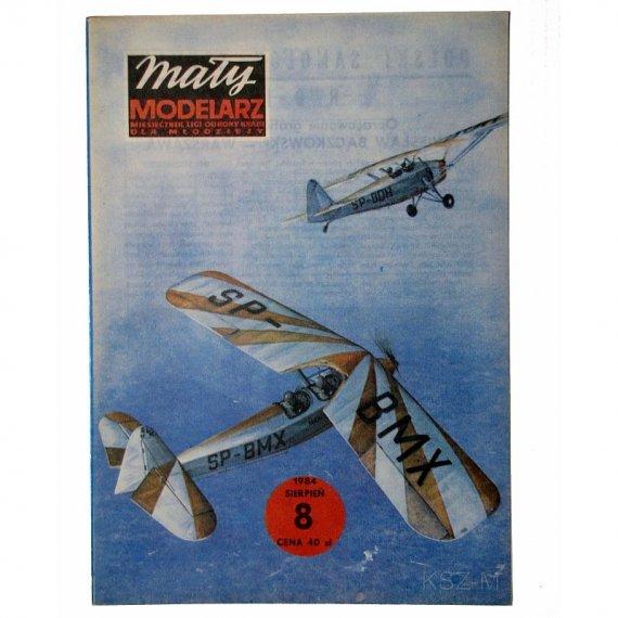 Mały Modelarz 8/84 - Samolot szkolny RWD-17