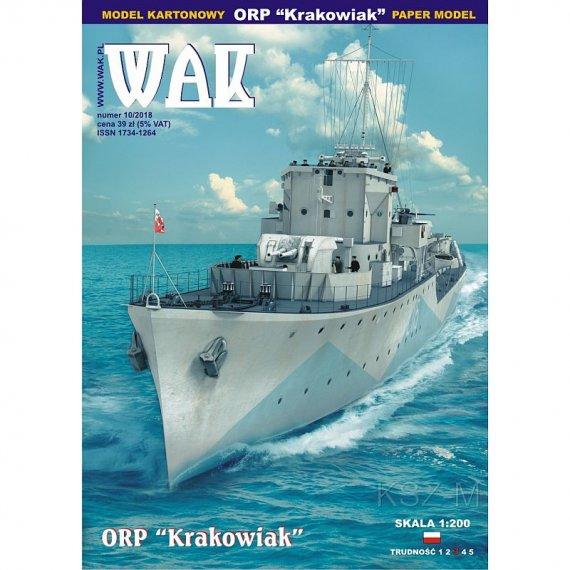WAK 10/18 - ORP Krakowiak
