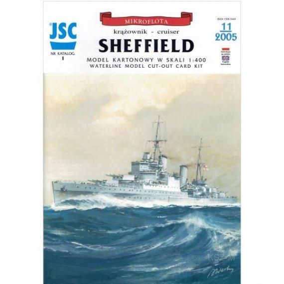 JSC-001 - Brytyjski krążownik SHEFFIELD