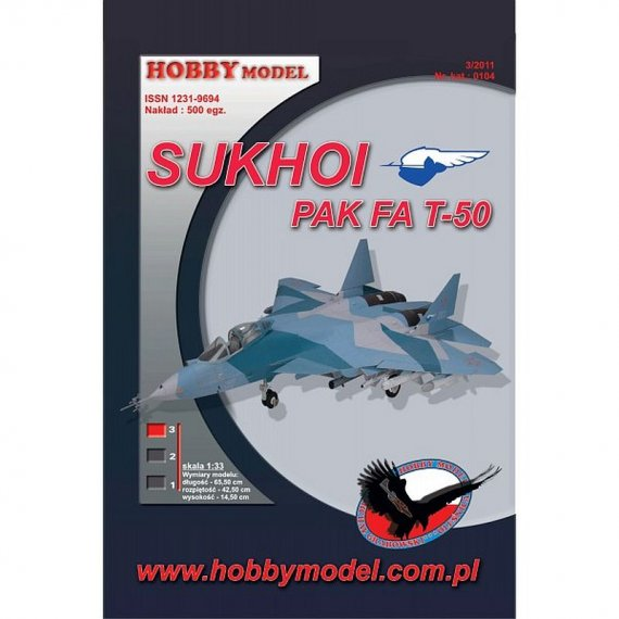 Hobby Model 104 - SUKHOI PAK FA T-50