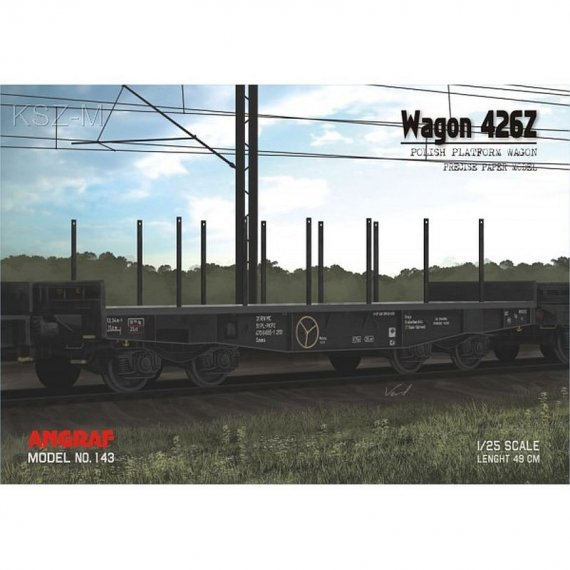 Angraf 143 - Wagon platforma 426Z