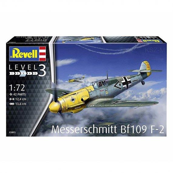 REVELL 03893 - Messerschmitt Bf 109 F-2