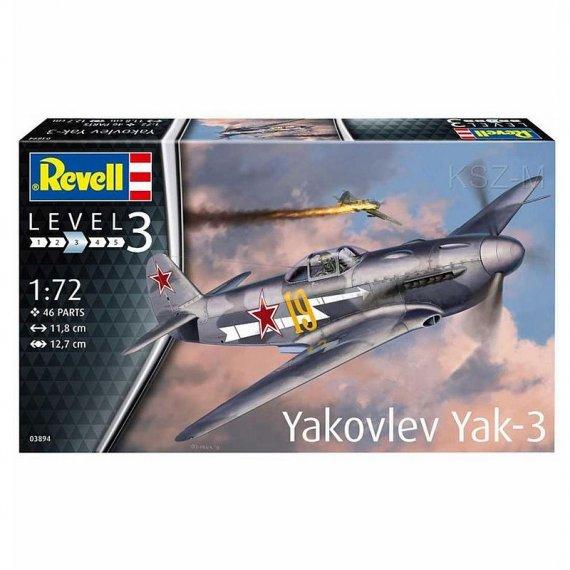 REVELL 03894 - Yakovlev Yak-3 ( Jak-3 )