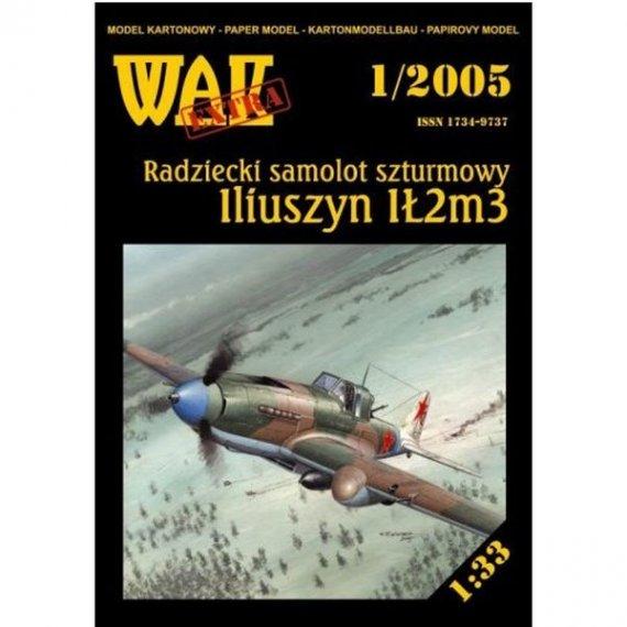 WAK 1/05 Samolot szturmowy IŁ-2 M3