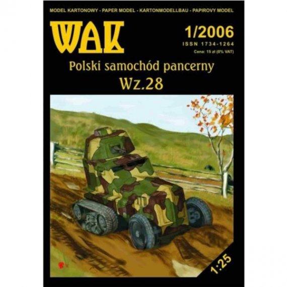 WAK 1/06 WZ.28 - polski samochód pancerny