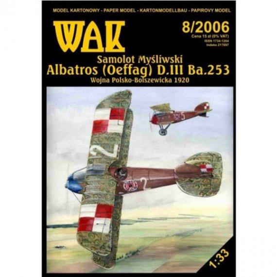WAK 8/06 - Samolot myśliwski Albatros D.III