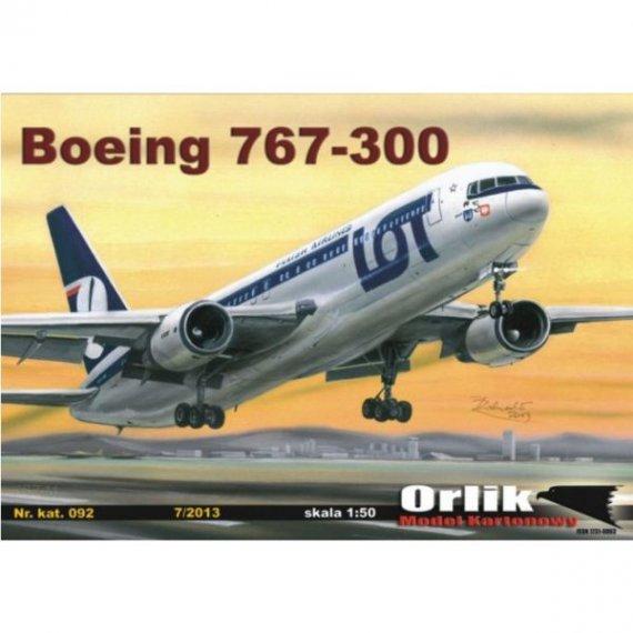 Orlik 092 Samolot pasażerski Boeing 767-300