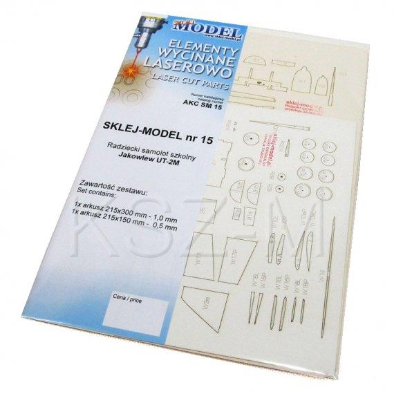 Szkielet, detale do UT-2M - Sklej Model 15