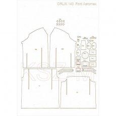Lasery do Orlik 140 Ford LTLA 9000 Aeromax 120