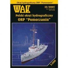 WAK 12/07 - Okręt ORP Pomorzanin