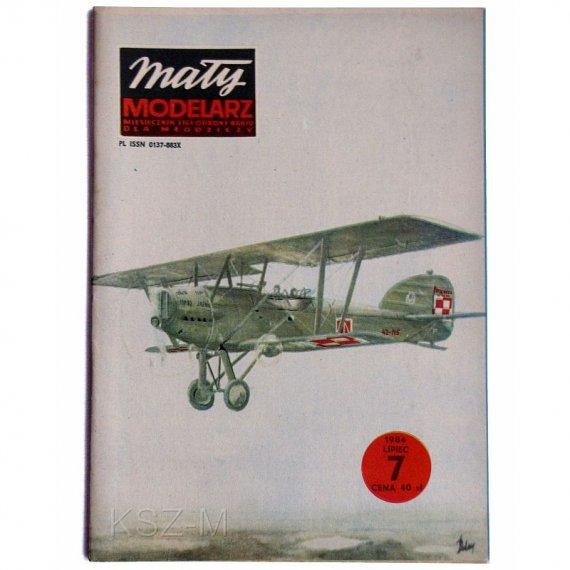 Mały Modelarz 7/84 - Samolot Potez XXV A2