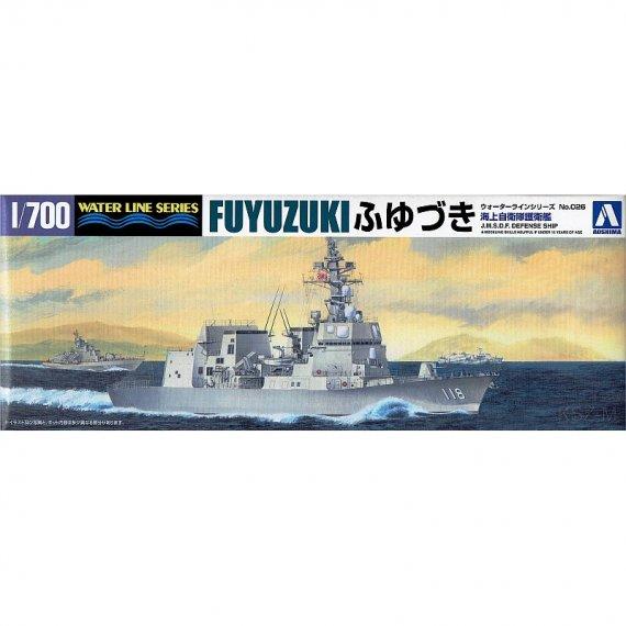 AOSHIMA 026 - JMSDF Defenseship DD-118 Fuyuzuki