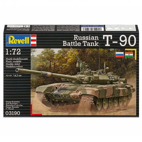 REVELL 03190 - Russian Battle Tank T-90