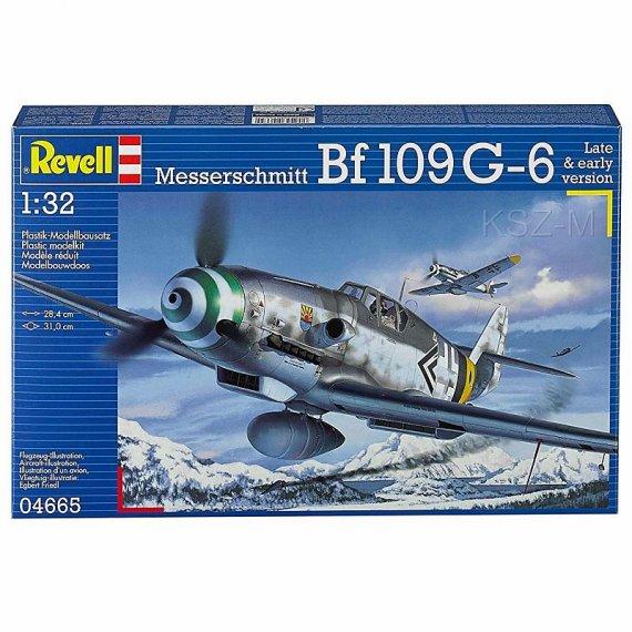 REVELL 04665 - Messerschmitt Bf 109 G-6
