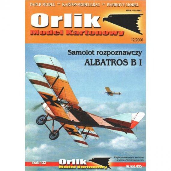 Orlik 035 - Samolot rozpoznawczy Albatros B.I