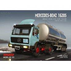 Angraf 123 Mercedes 1628S + naczepa cysterna