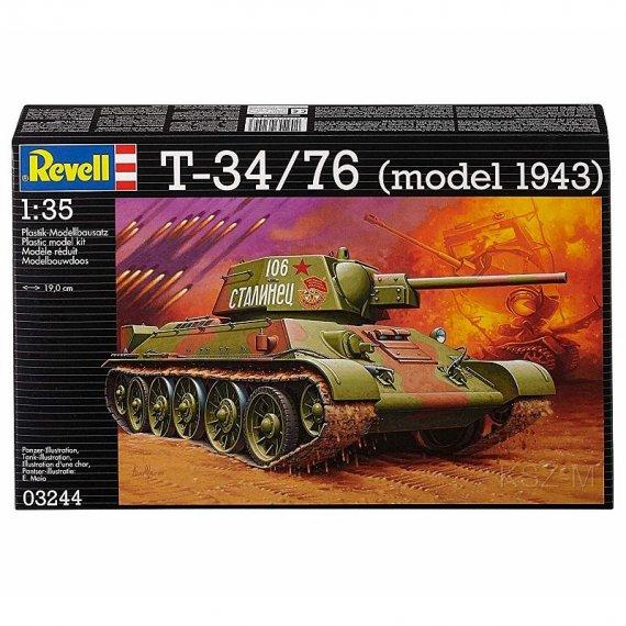REVELL 03244 - T-34/76 Model 1943