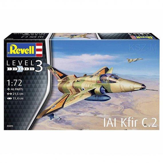REVELL 03890 - IAI Kfir C-2
