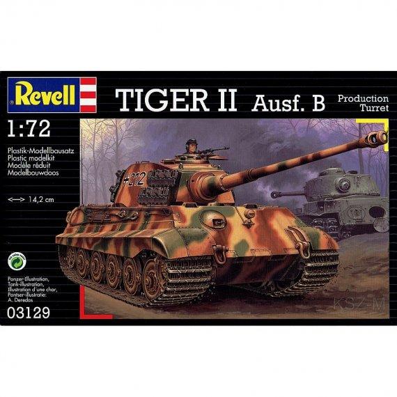REVELL 03129 - Tiger II Ausf. B