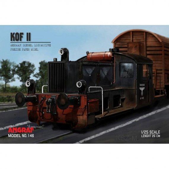 Angraf 146 - Lokomotywa KOF II