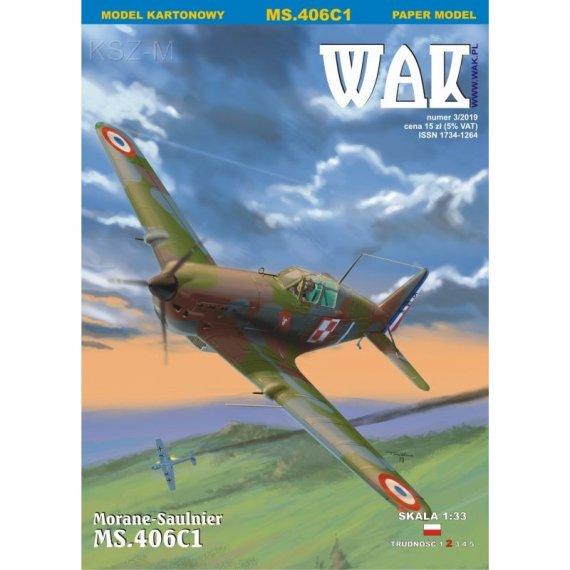 WAK 3/19 - Morane-Saulnier 406C1