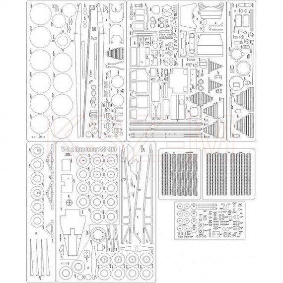 Szkielet, detale do V-2 Hanomag SS100 - Angraf 144