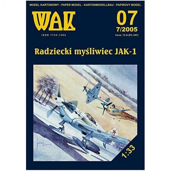 WAK 7/05 - Myśliwiec Jak-1